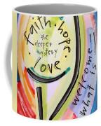 Welcome What Is Coffee Mug