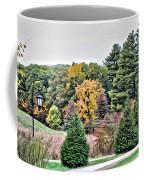 Wellesley College Campus Coffee Mug