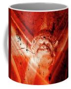 Wells Cathedral Gargoyles Color Negative D Coffee Mug