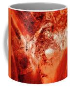 Wells Cathedral Gargoyles Color Negative H Coffee Mug