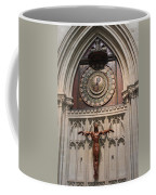 Wells Cathedral Geocentric Clock Coffee Mug