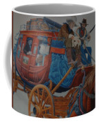 Wells Fargo Stagecoach Coffee Mug