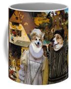 Welsh Corgi Pembroke Art Canvas Print - The Dutch Proverbs Coffee Mug