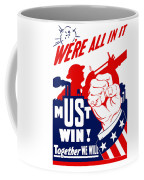 We're All In It - Ww2 Coffee Mug