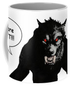 Werewolf Comic Illustration 1 Coffee Mug