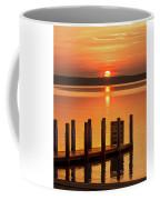 West Dnr Boat Launch July Sunrise Coffee Mug