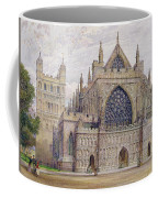 West Front, Exeter Cathedral Coffee Mug