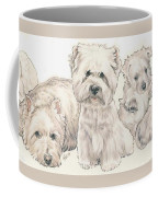West Highland White Terrier Puppies Coffee Mug