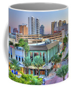 West Palm At Twilight Coffee Mug