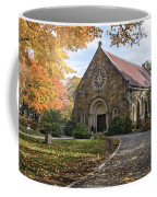 West Parish Chapel In Fall, Andover, Ma Coffee Mug