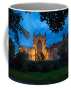 West Side Of Hexham Abbey At Night Coffee Mug