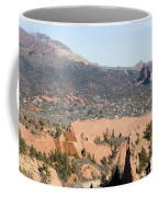 West Springs And Distant Garden Of The Gods Coffee Mug