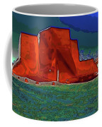 West View Of Church In Ranchos Coffee Mug