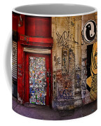 West Village Wall Nyc Coffee Mug by Chris Lord
