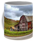 West Virginia Barn Coffee Mug