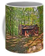 West Virginia Cabin Coffee Mug