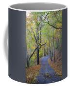 West Virginia Fall Scene Coffee Mug