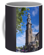 Westerkerk Tower And Church. Amsterdam. Netherlands. Europe Coffee Mug