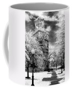 Western Auto In Winter Coffee Mug