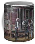 Western Cowboy Re-enactors At 1880 Town Coffee Mug
