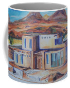 Western Home Illustration Coffee Mug