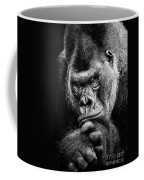 Western Lowland Gorilla Bw II Coffee Mug