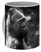 Western Lowland Gorilla Closeup Coffee Mug