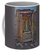 Western Outhouse Coffee Mug
