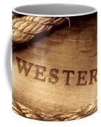 Western Stamp Branding Coffee Mug