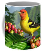 Western Tanager Coffee Mug by Jerry LoFaro