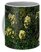 Western Wallflower Along Etiwanda Falls Trail In San Gabriel Mountains-california Coffee Mug