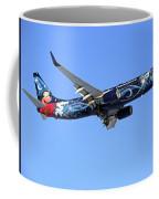 Westjet Disney Magic B-737-800 Coffee Mug
