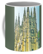 Westminster Abbey Postcard Coffee Mug