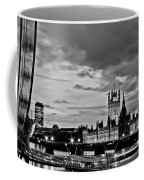 Westminster Black And White Coffee Mug
