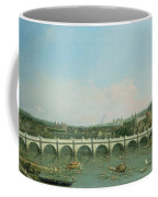 Westminster Bridge From The North With Lambeth Palace In Distance Coffee Mug