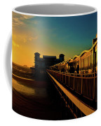 Weston Pier At Sunset Coffee Mug