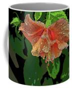 Wet Hibiscus Coffee Mug