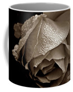 Wet Rose In Sepia Coffee Mug by Patricia Strand