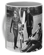 Wetsuits For Water Skiers Coffee Mug by Underwood Archives