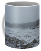 Weymouth Back River In A Snow Storm Coffee Mug