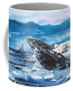 Whale Breaching Coffee Mug