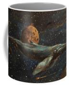 Whale Of The Universe Coffee Mug
