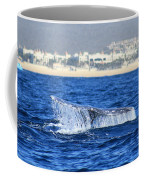 Whale Tail In Cabo Coffee Mug