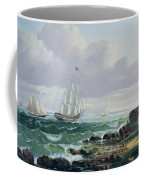 Whalers Coming Home Coffee Mug
