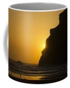 Whales Head Beach Oregon Sunset 2 Coffee Mug