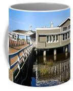 Wharf At Jekyll Island Coffee Mug