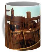 Wharf Scene Coffee Mug