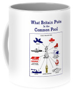 What Britain Puts In The Common Pool Coffee Mug