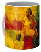 What Is It Ma Coffee Mug by Bayo Iribhogbe