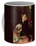 What Shall I Read Coffee Mug by Florence Marlowe